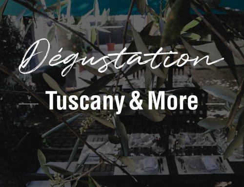Dégustation Tuscany & More