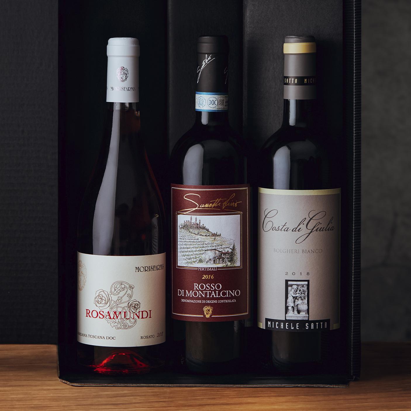 Wine box – Tuscany (Mixed Wines)